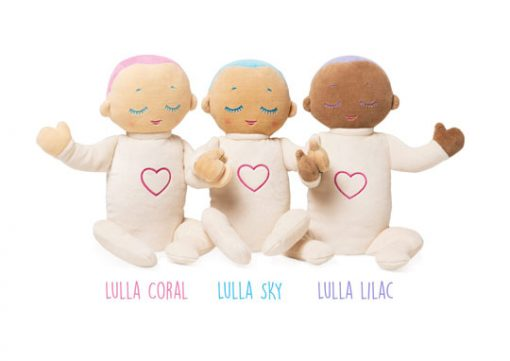 Knuffel met hartslag Lulla doll.